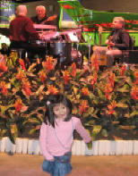 Lianne and Trio Nova at Flower Show